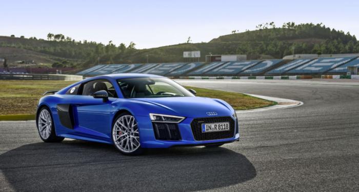 Audi R8 nombrado el auto con mejor desempeño del 2016